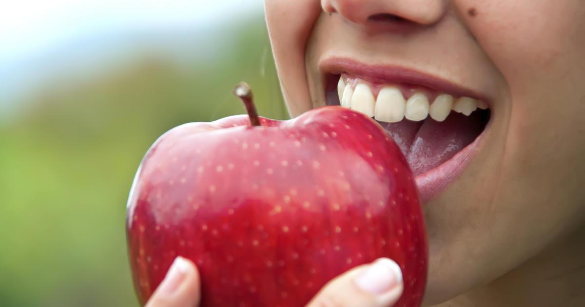 dentes mais saudáveis